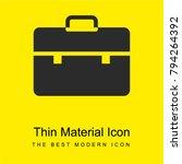 briefcase bright yellow... | Shutterstock .eps vector #794264392