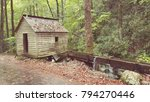 house in great smoky mountains... | Shutterstock . vector #794270446