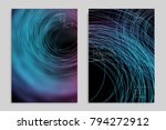 abstract banner template with... | Shutterstock .eps vector #794272912