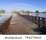 aspire park in doha city  qatar. | Shutterstock . vector #794274442