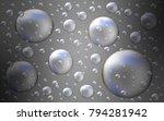 light gray vector background... | Shutterstock .eps vector #794281942