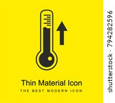 thermometer measuring ascending ...   Shutterstock .eps vector #794282596