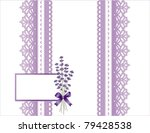Lavender Lace  Antique...