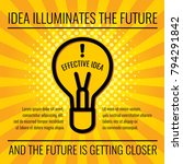 creative idea vector business...   Shutterstock .eps vector #794291842