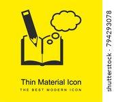educational book bright yellow...