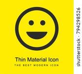 emoticon square smile bright...   Shutterstock .eps vector #794298526