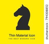 horse black head shape of a... | Shutterstock .eps vector #794308852