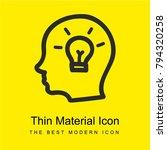 idea hand drawn symbol of a...