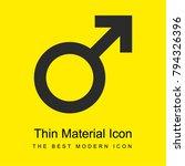 masculine bright yellow...   Shutterstock .eps vector #794326396