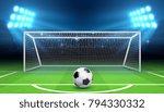 soccer football championship... | Shutterstock .eps vector #794330332