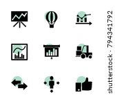 up icons. vector collection...