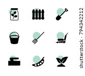 garden icons. vector collection ...