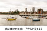 sunderland marina  sunderland ... | Shutterstock . vector #794349616