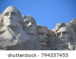 south dakota is the place that... | Shutterstock . vector #794357455