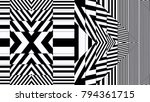 black and white background | Shutterstock . vector #794361715