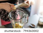 closeup top view image of... | Shutterstock . vector #794363002