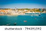 portugal  cascais near lisbon ...   Shutterstock . vector #794391592