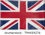 union jack flag of the united... | Shutterstock . vector #794434276