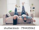 excited cheerful joyful amazing ...   Shutterstock . vector #794435062