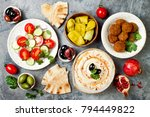 middle eastern traditional... | Shutterstock . vector #794449822