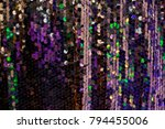 colorful sequins   sparkling... | Shutterstock . vector #794455006
