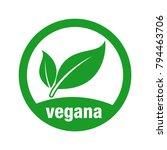 icon for vegan food  vegan