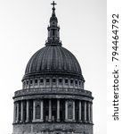 st. paul's cathedral dome | Shutterstock . vector #794464792