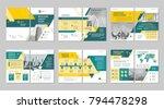 brochure creative design.... | Shutterstock .eps vector #794478298