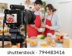 professional digital mirrorless ... | Shutterstock . vector #794483416
