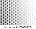 halftone background. distressed ... | Shutterstock .eps vector #794502376