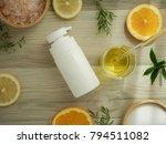 natural cosmetic skincare serum ... | Shutterstock . vector #794511082