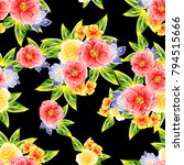 abstract elegance seamless... | Shutterstock .eps vector #794515666