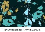 nifty gental botanical... | Shutterstock .eps vector #794522476
