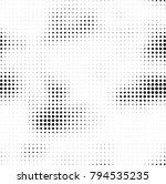 halftone black and white | Shutterstock .eps vector #794535235