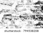 grunge black and white pattern. ...   Shutterstock . vector #794538208