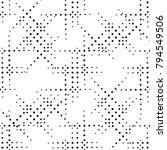 circle seamless pattern.... | Shutterstock .eps vector #794549506