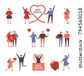 various events for couples... | Shutterstock .eps vector #794560018