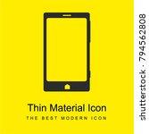 smartphone bright yellow...
