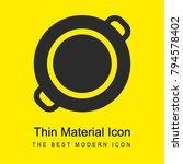 paella bright yellow material...   Shutterstock .eps vector #794578402