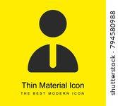 employee bright yellow material ... | Shutterstock .eps vector #794580988
