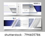 set of business templates for... | Shutterstock .eps vector #794605786