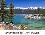Beautiful Lake Tahoe With View...