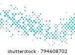 light blue  green vector... | Shutterstock .eps vector #794608702
