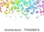 light multicolor  rainbow...   Shutterstock .eps vector #794608876