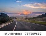 australian road trip concept.... | Shutterstock . vector #794609692