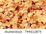 light green  yellow vector... | Shutterstock .eps vector #794612875