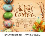 template vector card with... | Shutterstock .eps vector #794634682