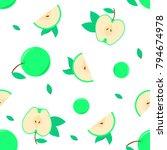 seamless pattern background... | Shutterstock .eps vector #794674978