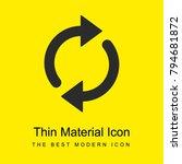 refresh bright yellow material...