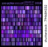 ultra violet gradients. color...   Shutterstock .eps vector #794684332